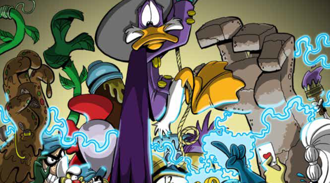 Review of Darkwing Duck: Orange is the New Purple (Issues 1-3)
