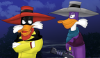 Darkwing VS Negaduck by sweetkat22