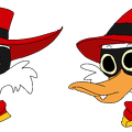 negaduck cat eyes